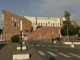 Cité de la musique  - Henri Gaudin, Architektur, Kultur, Mediathek Andre Malraux, Archiv der Straßburger Stadtgemeinschaft