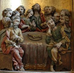 Das letzte Abendmahl - Barock, Relief, Abendmahl, Apostel, zwölf