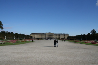 Schloss Schönbrunn in Wien - Wien, Schönbrunn, Schloss, Park, Kulturgut, Sehenswürdigkeit, Weltkulturerbe
