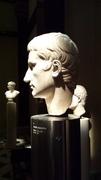 Büste Kaiser Augustus - Kaiser, Augustus, Wien, Büste, kunsthistorisch, Museum, Kopf, Marmor