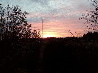 Sonnenaufgang - Morgenstimmung, Sonnenaufgang, Wetter, Wolken, Sonne, Schatten, Stimmung, Morgenröte, Dämmerung, Wolken, Licht
