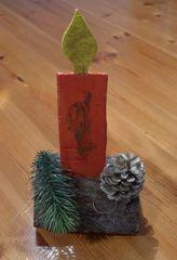 Weihnachtsdekoration #1 - Dekoration, Weihnachten, Bazar, Advent, Weihnachtsbazar, Kerze
