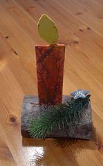 Weihnachtsdekoration #3 - Dekoration, Weihnachten, Bazar, Advent, Weihnachtsbazar, Laubsägearbeit, Kerze
