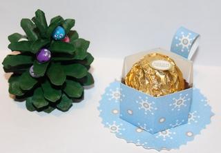 Bastelvorschlag Tasse - Weihnachten, Basteln, Papier, Karton, falten, Verpackung