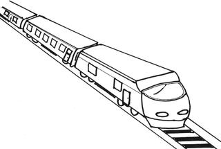 Zug - Zug, Bahn, Eisenbahn, train, Transport, Transportmittel, Fahrt, Reise, Bahnhof, Schienen, Verkehr, Anlaut Z, Anlaut B, Wörter mit g, Waggon, Lok