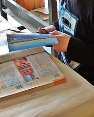 schneiden - schneiden, Verb, Tätigkeit, Schere, Papier, Werkzeug, cut, trennen, ausschneiden, Schere, Schneidewerkzeug, Anlaut sch