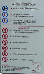 Gefahrenhinweis -  polnisch - Gefahrenhinweis, polnisch, Verhalten, niebezpieczenstwo, niebezpieczny, trzymac, zabraniac
