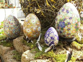 Ostereier - Osterei, Ostern, Ei, Dekoration, Frühling