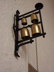 Sakristeiglocke - Sakristeiglocke, Glocke, katholische Kirche, Einzugsprozession, Kirchenraum, Zugvorrichtung, Beginn der liturgischen Feier