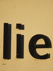 Lüge / lie - Lüge, Wahrheit, Ehrlichkeit, ehrlich, Wortkarte, Vokabel, Moral, Notlüge