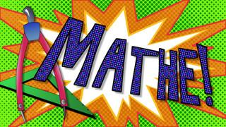 Symbolkarte Mathematik - Mathematik, Mathe, Mathematikunterricht, Symbol, Tagesablauf
