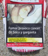 Fumar mata #2 - cáncer, boca, garganta, Zigaretten, rauchen, gefährlich, Warnung, Hinweis, Gesundheit, salud, fumar, matar, autoridades, sanitarias, cigarillos