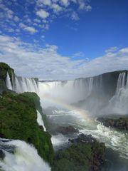 Wasserfall von Iguaçu - Wasserfall, Katarakt, Iguacu, Brasilien, Fallstrecke, Gefälle