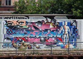 StreetArt #1 - Urbanität, urbanes Leben, Kultur, Großstadt, Ethik, Lebensführung, sozial, Miteinander, Gesellschaft, Soziologie, Architektur, Städtebau, Graffiti, Wandel, Veränderung, StreetArt