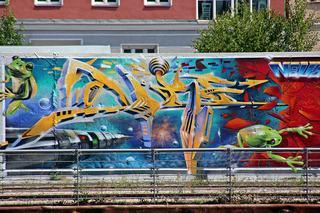 StreetArt #4 - Urbanität, urbanes Leben, Kultur, Großstadt, Ethik, Lebensführung, sozial, Miteinander, Gesellschaft, Soziologie, Architektur, Städtebau, Graffiti, Wandel, Veränderung, StreetArt, Zeitgeist