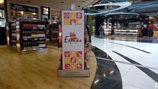 Hola España #1 - Espana, Verkaufsstand, icon, symbol, Spanien, productos locales