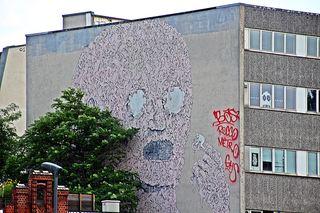 StreetArt #5 - Urbanität, urbanes Leben, Kultur, Großstadt, Ethik, Lebensführung, sozial, Miteinander, Gesellschaft, Soziologie, Architektur, Städtebau, Graffiti, Wandel, Veränderung, StreetArt, Zeitgeist, Mural, Berlin