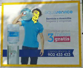 Werbeplakat:  aquaservice - aquaservice, servicio, domicilio, hogar, empresa