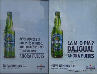 Alkohohlfreies Bier - da igual, ahora puedes, tomarte, cerveza, publicidad