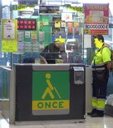 ONCE - Verkaufsstand - once, ciegos, Organización Nacional de Ciegos de España