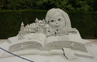 Skulptur aus Sand #7 - Skulptur, Sand, Sandskulptur, Kunst, Kunstwerk, Bildhauerei