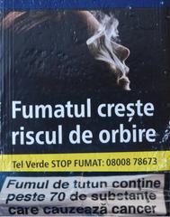 Rauchen- Gefahrenhinweis auf rumänisch - rauchen, gefahrehinweis, erblinden, fumatul, riscul, orbire