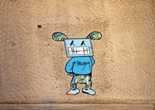 StreetArt in Paris  - Urbanität, urbanes Leben, Kultur, Großstadt, Ethik, Lebensführung, sozial, Miteinander, Gesellschaft, Soziologie, Architektur, Städtebau, Graffiti, Wandel, Veränderung, StreetArt, Zeitgeist, Paris