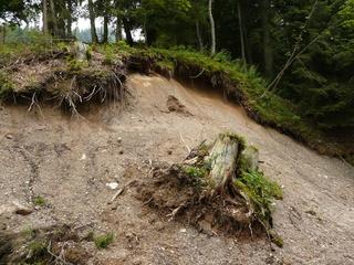 Erosion in den Alpen - Erdkunde, Alpen, Erosion, Tirol, Regen, Wasser