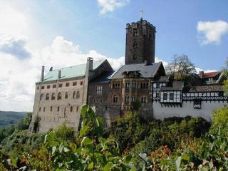 Wartburg - Eisenach, Wartburg, Luther, Thesen, Burg, Thüringen, Bauwerk, Festung, Turm, Mittelalter, Romanik, Fachwerk