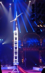 Akrobatik#4 - Zirkus, Wanderzirkus, Manege, Spielstätte, Vorführung, Akrobatik