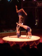 Akrobatik #3 - Zirkus, Wanderzirkus, Manege, Spielstätte, Vorführung, Akrobatik