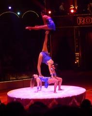 Akrobatik #1 - Zirkus, Wanderzirkus, Manege, Spielstätte, Vorführung, Akrobatik