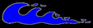 Wellen - water, Wellen, Wasser, Welle, Meer, Farben, blau, Anlaut W, Wörter mit Doppelkonsonanten, Freizeit, Spiel