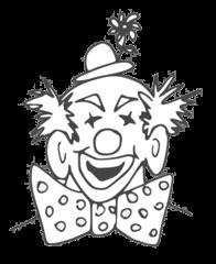 Clown - clown, lustig, Karneval, Zirkus, Fasching, Kostüm, Spaß, Spaßmacher, Fasching, Kostüm, lachen, Cirkus, bunt, lustig, Anlaut C