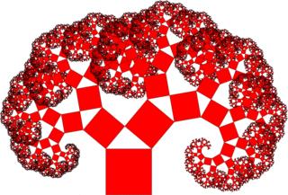 Ein Pythagoras-Baum  - Mathematik, Pythagoras, Iteration, Rekursion