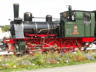 Dampflok#1 - Damplokomotive, Dampflok, Verkehr, Lok, Lokomotive, Dampfmaschine, Eisenbahn, Bahn, Schreibanlass