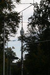 Fernsehturm Stuttgart#1 - Fernsehturm, Sendeturm, Stuttgart, Bauwerk, Beton, Kulturdenkmal, Wahrzeichen, Aussichtsturm, Turmbau