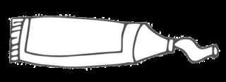 Tube #2 - tube, Farbtube, Tube, Farbe, Kunst, malen, Anlaut F, Anlaut T