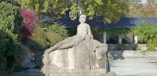 Europa auf dem Stier - Europa, Stier, Zeus, griechische Götter, Götter, Mythologie, Skulptur