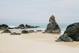 Strand von Durness - Strand, Felsen, Wasser, Meer, Schottland, Durness, Highlands, Natur, Sand, Wellen