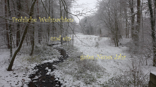 Weihnachtsgruß - deutsch - Weihnachten, froh, Neujahr, Neues Jahr