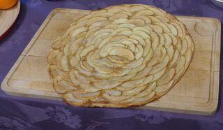 Tarte à la pomme - tarte, pomme, tarte a la pomme, apfelkuchen