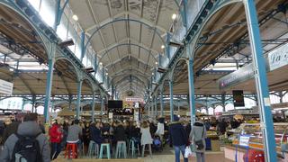 Markthalle - marché, les halles, halle, buvette