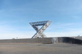 Saarpolygon Bild 2 - Architektur, Wahrzeichen, Stahlkonstruktion, Bergehalde, Symbol, Polygon