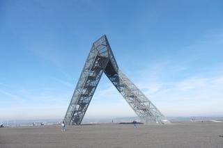 Saarpolygon Bild 3 - Architektur, Wahrzeichen, Stahlkonstruktion, Bergehalde, Symbol, Polygon