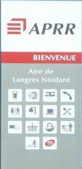 Hinweisschild auf Autobahntankstelle - station, service, Schild, Appr, bienvenue, aire, autoroute
