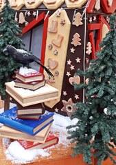 Märchen - Lesen 2# - Buch, Bücher, Stapel, hoch, dick, dicker, dickes, schwer, schweres, Geschichte, Rabe, Leserabe, schwarz, Erzählung, Märchen, book, Bucheinband, Papier, Seiten, lesen, zuhören