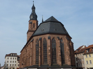 Heiliggeistkirche Heidelberg - Heiliggeistkirche, Heidelberg, Kulturdenkmal, Hallenkirche, gotik, Sandstein, Evangelische Landeskirche