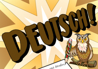 Symbolkarte Deutsch - Deutsch, Deutschunterricht, Symbol, Tagesablauf