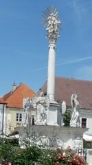 Pest-/Dreifaltigkeitssäule - Pestsäule, Dreifaltigkeitssäule, Denkmal, Kleindenkmal, Hochsäule
